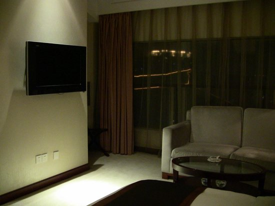 Yixing Hotel: The lounge area