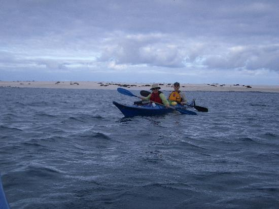 San Cristobal, Equador: Kayaking near Galapagos Beach