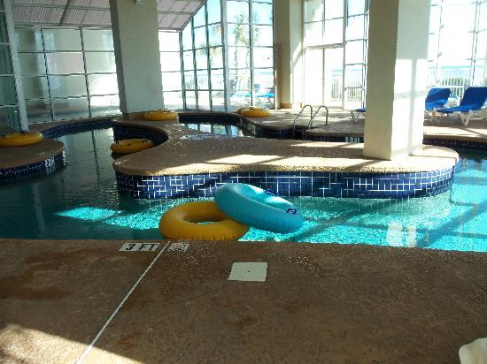 Indoor pool mini lazy river picture of carolinian beach - Indoor swimming pool myrtle beach sc ...