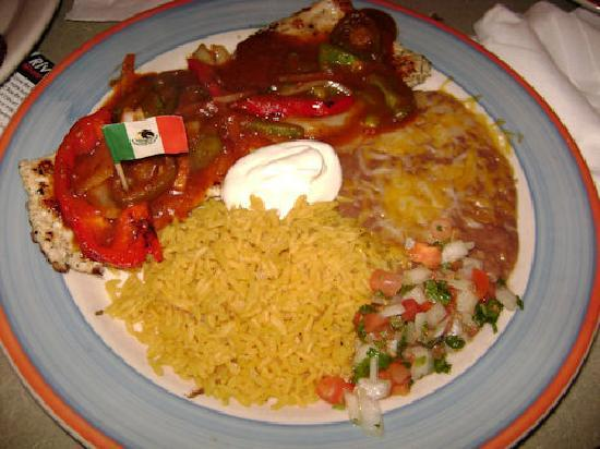 Pancho's: Another tasty dish