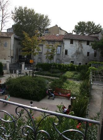 Côté Square : View from roof terrace