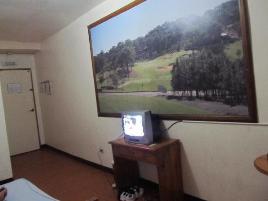Blue Mountain Hotel: Television Set with Cable Channels...