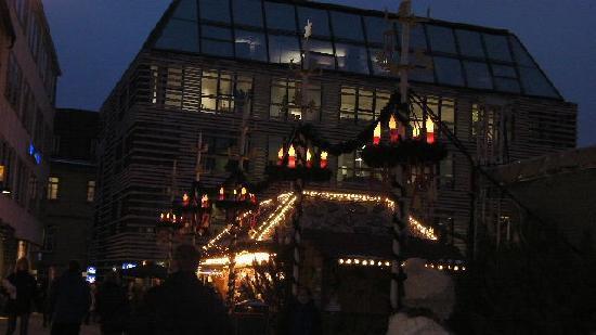 Würzburg, Alemania: マーケットの飾り