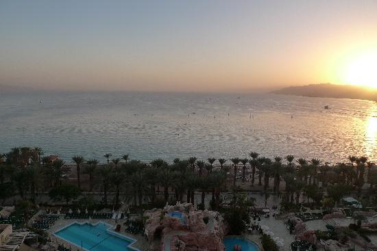 Dan Eilat: View from our Room