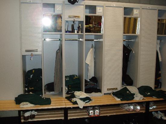 Borussia-Park: in der Umkleidekabine