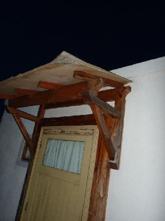 Hotel Restaurant Castellu Rossu : L'entrée