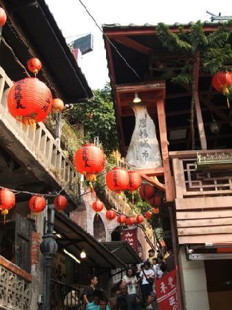 Xinbei, Taiwan: 九份の町