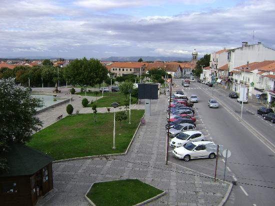 Figueira de Castelo Rodrigo, Portugal: exterior view of apartment. Residencial Transmontana