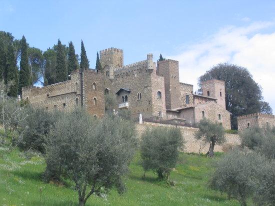 Castello di Monterone : Visione d'insieme