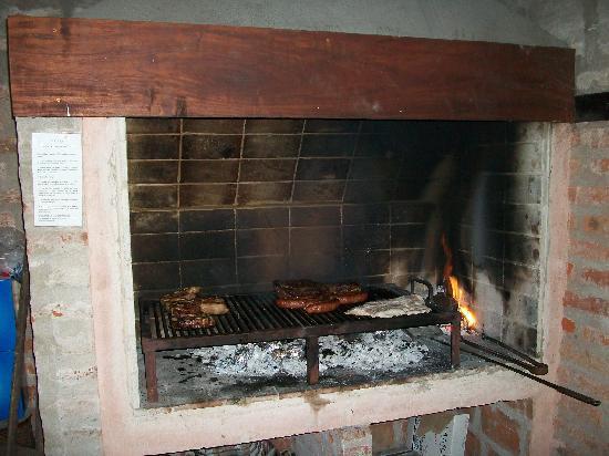 Cabanas del Pinar : Asado atEl Refugio