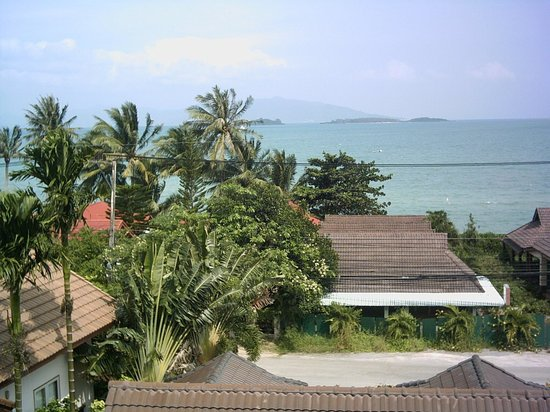 First Sea View Samui Hotel & Resort: Blick vom Balkon Dez 2010