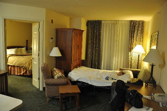 Staybridge Suites Corning: 1-bedroom suite