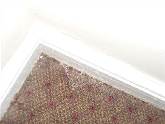 Imperial Court Hotel: skirting board and carpet