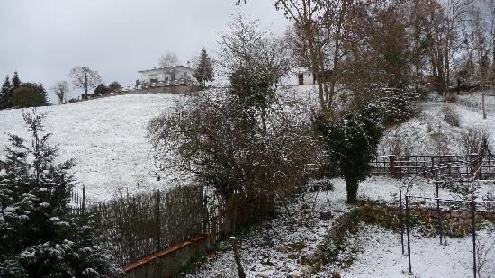Latoue, France: another view from our window