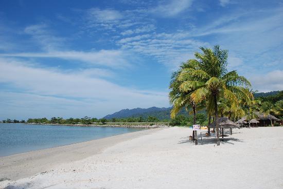 Langkawi Lagoon Resort: la plage