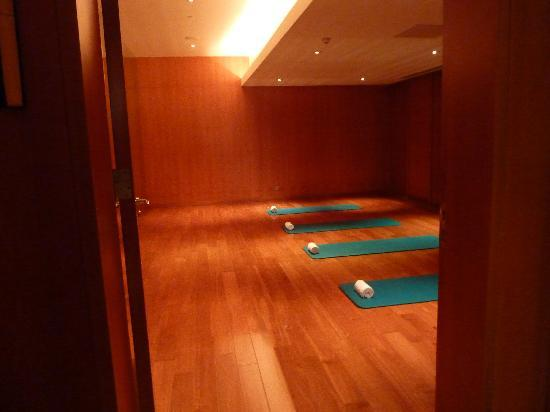 Fairmont Beijing : The yoga room