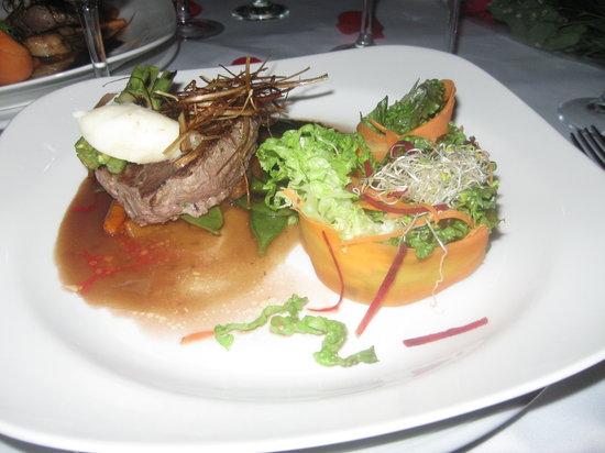 Privilege Beach Club : one ofthe dishes
