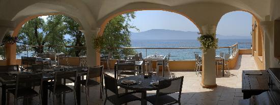 Hôtel Abbartello : Restaurant