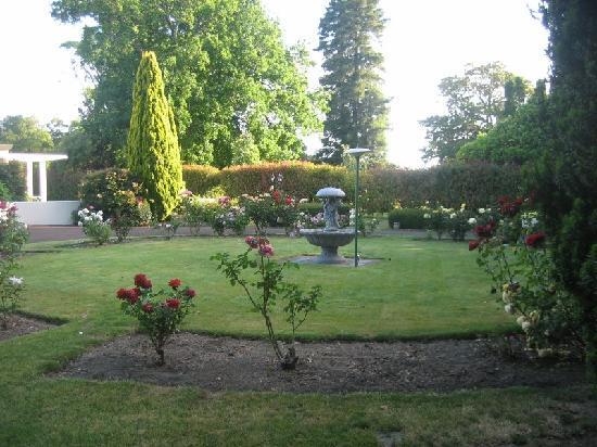 Mangapapa Hotel: Manor main garden