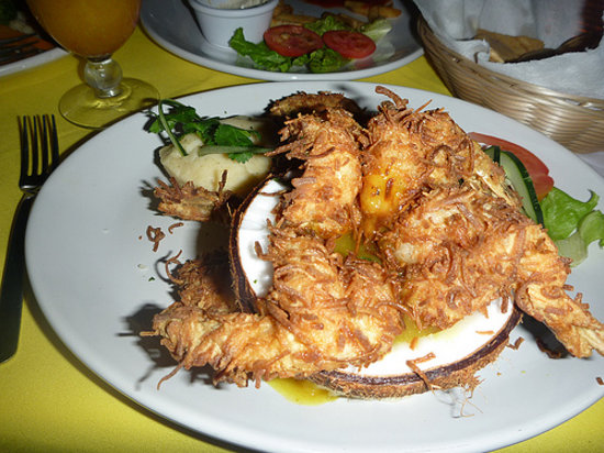 Chuuk Kay Restaurant Bar and Grill: Coconut Shrimp-- are you hungry yet?