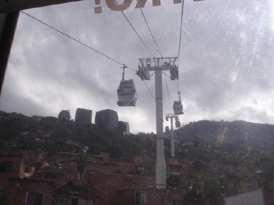 Medellin, Colombia: ケーブルカー