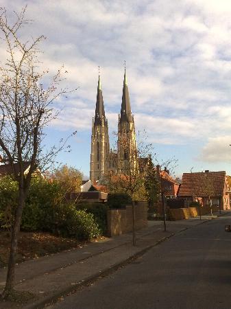 Billerbeck Blick zum Dom
