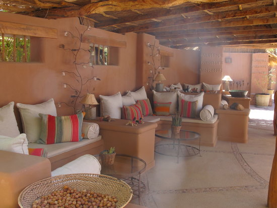 "Awasi Atacama - Relais & Chateaux: Outdoor ""lounge"" area"
