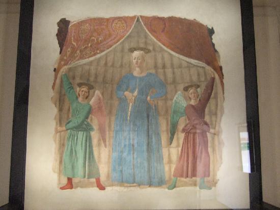 Monterchi, Italia: ピエロの「出産の聖母」