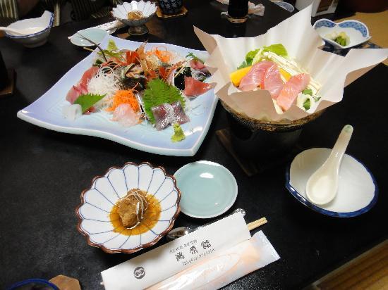 Katsuura, Japan: 夕食