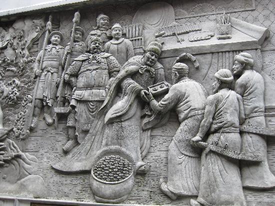 Semarang, Indonesia: 歴史がわかるレリーフ