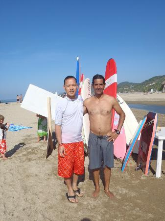 Canto Del Sol Plaza Vallarta: surf instructor alessandro