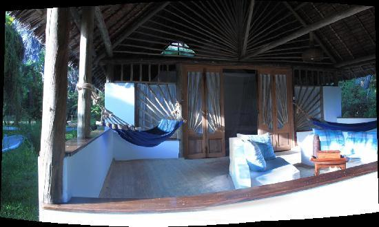 Kutani, Tanzania: This shows just some of my room. It was gigantic.