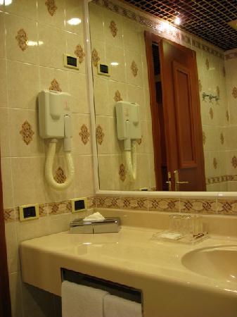 Starhotels Vespucci: バスルーム