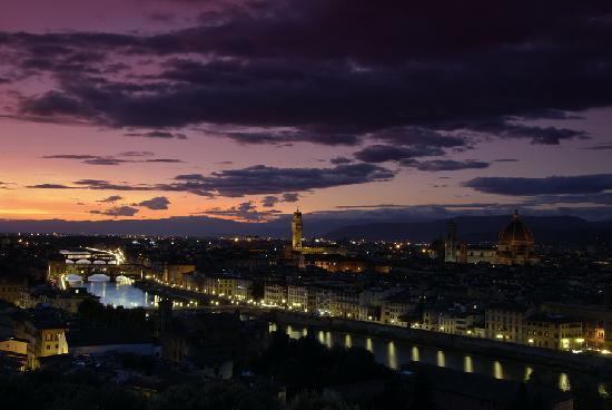 Residence Ristorante Golf Club Centanni : Florence in winter season