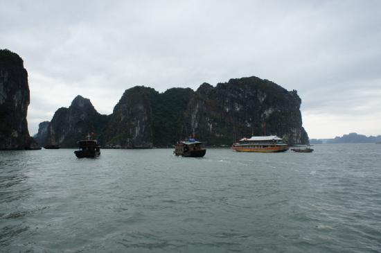 Ha Long Black Pearl Junk Day Cruise: Ha Long Bay