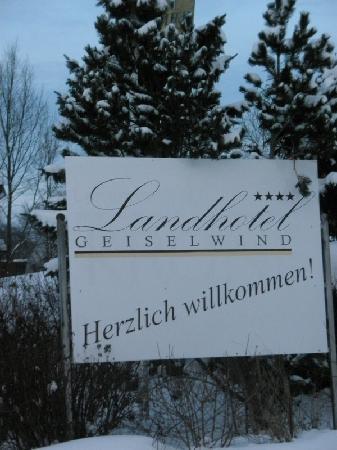 Landhotel Geiselwind: Winterliche Hotel-Impressionen
