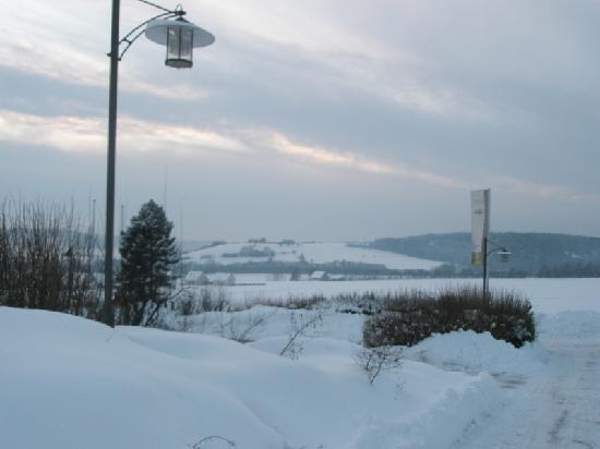 Landhotel Geiselwind: Wintertime in Geiselwind
