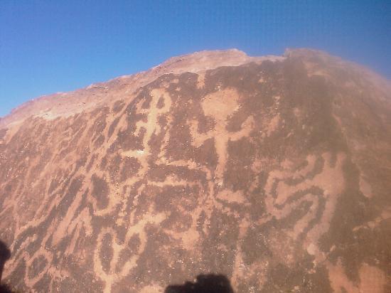 Uspallata, Argentina: Petroglyphs