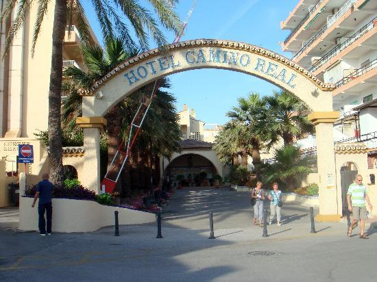 Hotel Pueblo Camino Real: Entrée principale