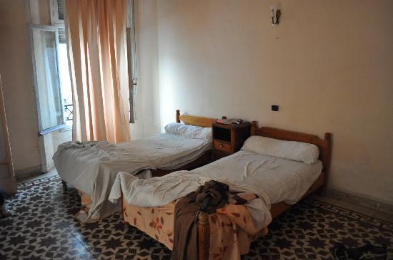 Hotel Central : la stanza