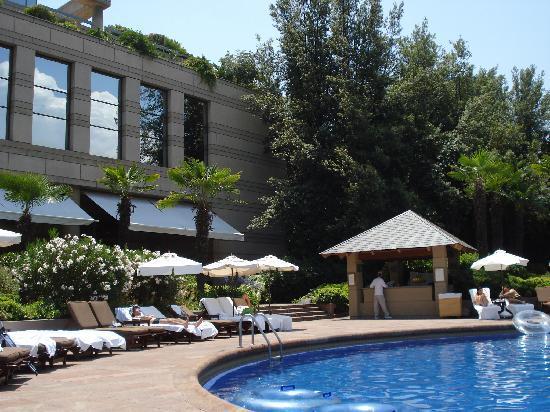 Hotel Santiago: Pool