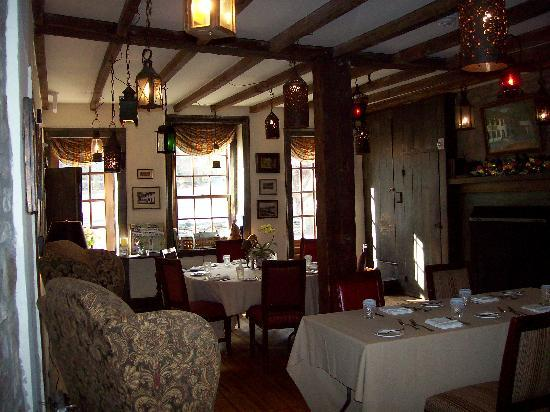 Black Bass Hotel: The Lantern Room.