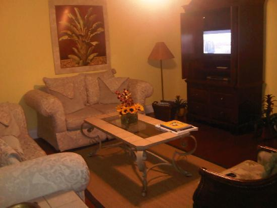 Ed Lugo Resort: living room