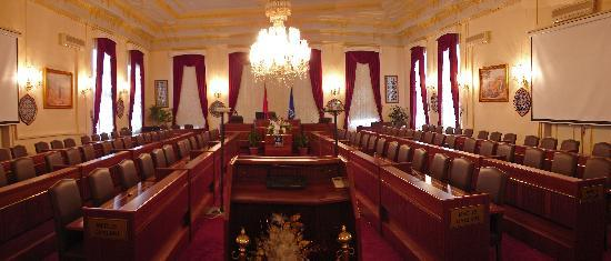 Bursa Town Hall : Council Chamber