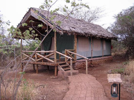 Kirurumu Manyara Lodge: Tented lodge