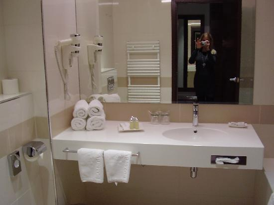 Hotel Aristos : Bathroom