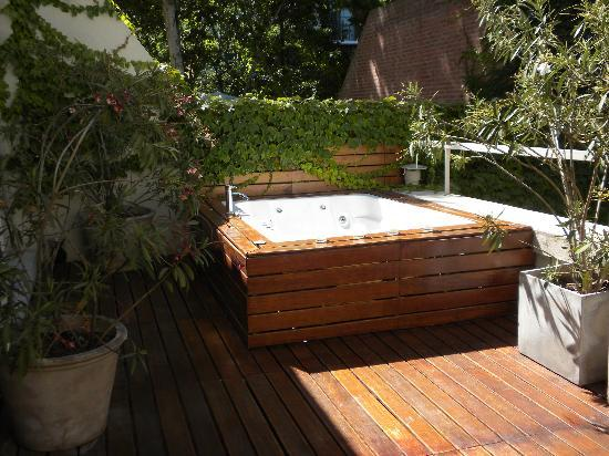 jacuzzi on our terrace picture of tailor made hotel. Black Bedroom Furniture Sets. Home Design Ideas