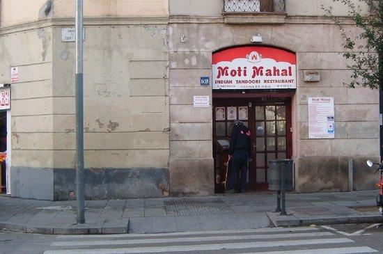 Moti Mahal: Exterior restaurante