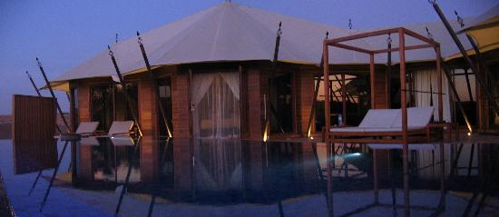 Banyan Tree Al Wadi: exterior overview, tented pool villa