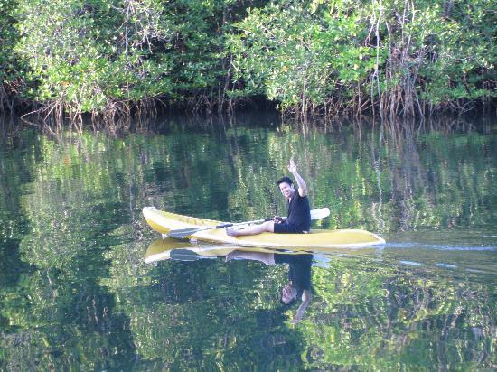 Baan Klong Jao Homestay: Klongjao on the kayak